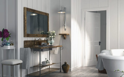 Bathroom Renovating: Decorating Country Style