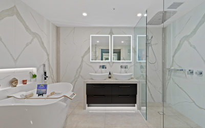 Bathroom Renovation of the decade! Versace Docklands
